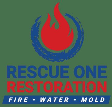 Rescue One Restoration Logo (Vertical)